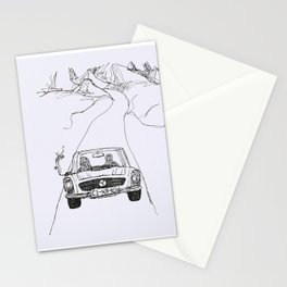 looking for salvation Stationery Cards