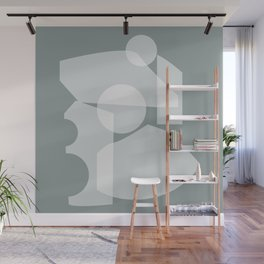 Shape study #30 - Inside Out Collection Wall Mural