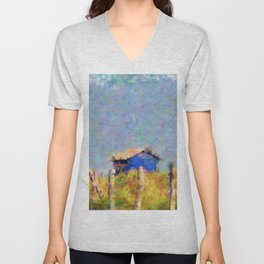 House by the sea Unisex V-Neck