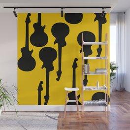 Simple Guitar Wall Mural