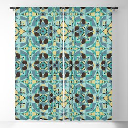 Just Beachy Seamless Pattern Blackout Curtain