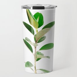 Ficus elastica Travel Mug