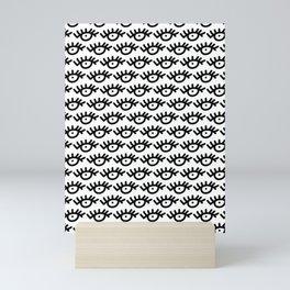 Eye Pattern Mini Art Print
