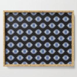 Greek Blue Eye Serving Tray