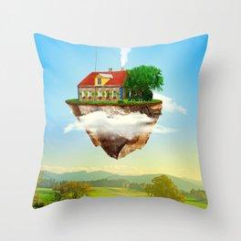 Joseph's Moving Castle Throw Pillow