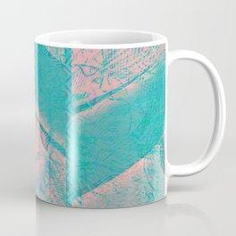 370 12 Pink and Blue Coffee Mug