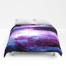Orion Nebula Purple Periwinkle Blue Galaxy Comforters