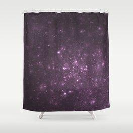Purple Galaxy of Sir Douglas Fresh Shower Curtain