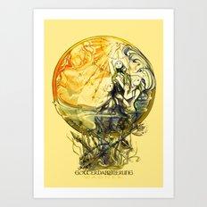 GOTTERDAMMERUNG - WAGNER- OPERA Art Print
