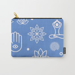 Yoga Icons Namaste Carry-All Pouch