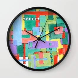 Cocktails in the City Wall Clock