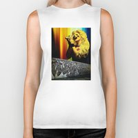 hedwig Biker Tanks featuring Midnight Radio - Hedwig and the Angry Inch by Danielle Tanimura