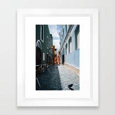 Callejón Framed Art Print