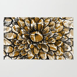 Moroccan Sunflower Rug