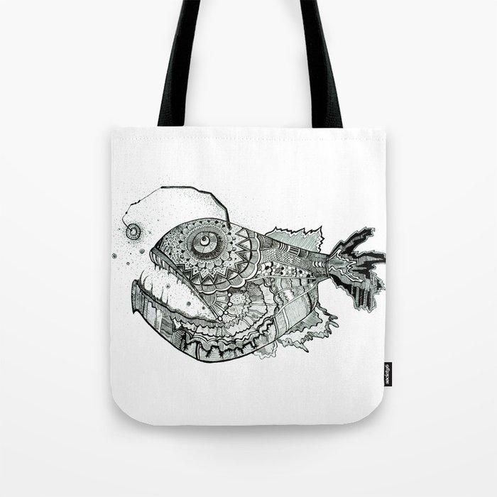 the iron fish Tote Bag