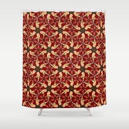 Eloise in Bondage pattern Shower Curtain