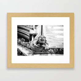 Curmudgeon Framed Art Print