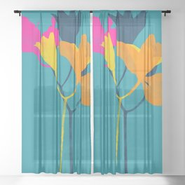 lily 24 Sheer Curtain