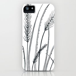 Blades of grass iPhone Case