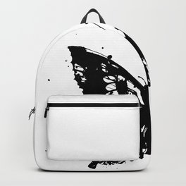 Grunge Butterfly Backpack