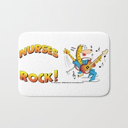 Nurses Rock Side by Side Bath Mat