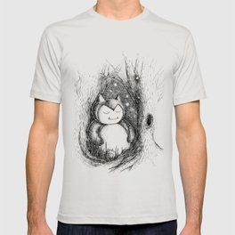 Snoozy Snorlax T-shirt