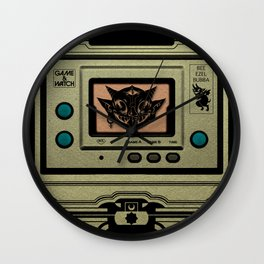Beezelbubba Game and Watch  Wall Clock