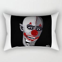 zombie clown Rectangular Pillow