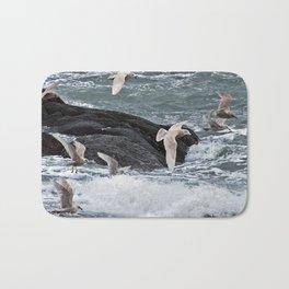 Gulls shop for Dinner Bath Mat