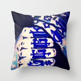 Ink'd Geek Throw Pillow
