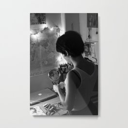 Her Corner Metal Print