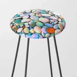 PEBBLES ON THE BEACH Counter Stool