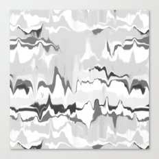 Marbled in onyx Canvas Print