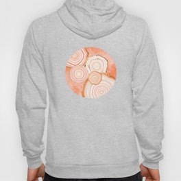 Coral Agate Abstract Hoody
