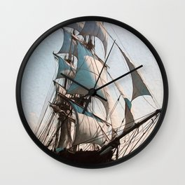 Black Sails Wall Clock