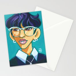 Changbin - Glasses Stationery Cards