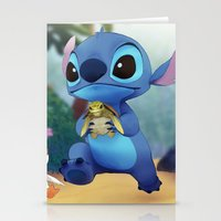 stitch Stationery Cards featuring Stitch by beastace