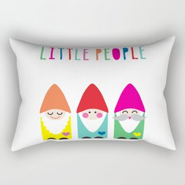 Gnomes Are Little People. Rectangular Pillow