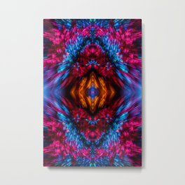 Sparkling Star Explosion Metal Print