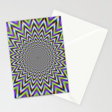 Starry Pulse Stationery Cards