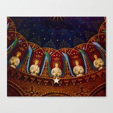 Church Ceiling Canvas Print