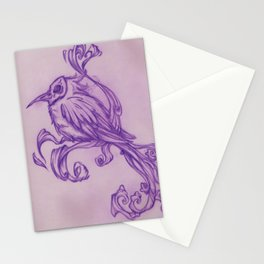 Voodoo feather Stationery Cards