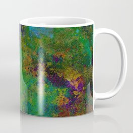 HAND-PAINTED UNIVERSE Coffee Mug