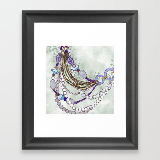 Glamour Framed Art Print