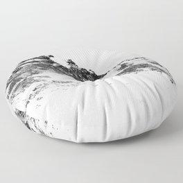 Snowy Peak Floor Pillow