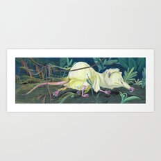 Moonrat Art Print