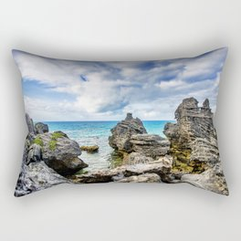 Tobacco Bay Beach, Bermuda Rectangular Pillow