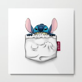 imPortable Stitch... Metal Print