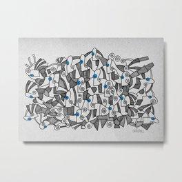 - fresque_02 - Metal Print