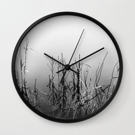 Echoes Of Reeds 2 Wall Clock